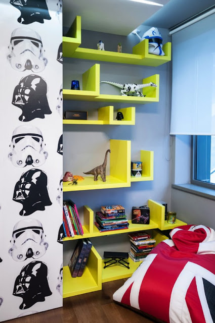DORMITORIO STAR WARS BEDROOM GUERRA DE LAS GALAXIAS