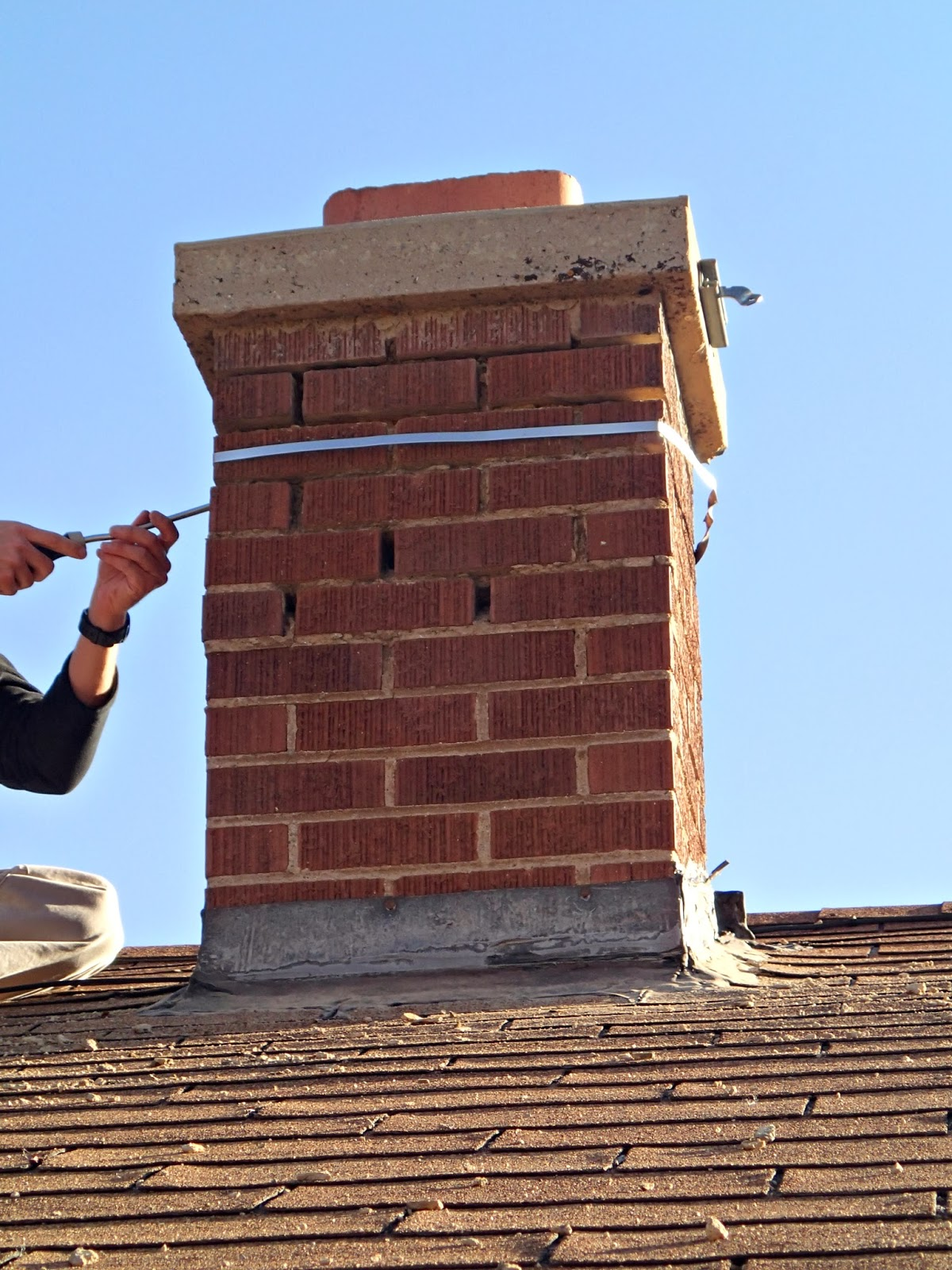 fixing chimney mortar twofeetfirst