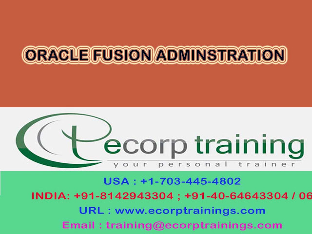 oracle fusion administration