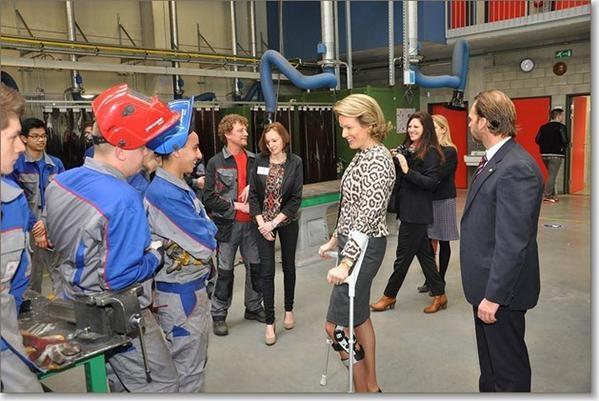 Belgium Royal Couple's visits province of  the Flemish Brabant