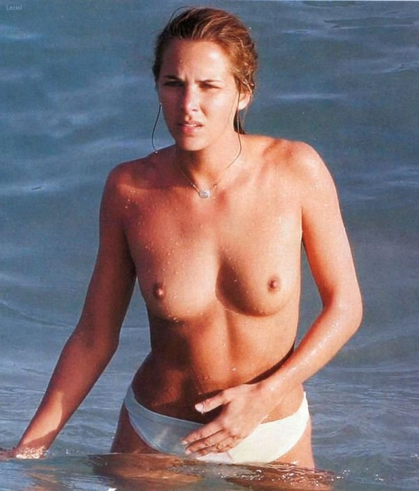 french news anchor naked Melissa