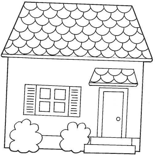 dibujos de casas de munecas: