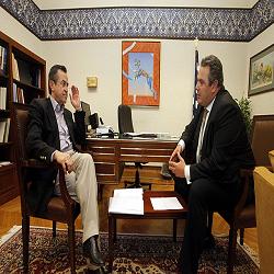 """Ενόχληση Καμμένου για το """"σήριαλ"""" των δηλώσεων Νικολόπουλου"""