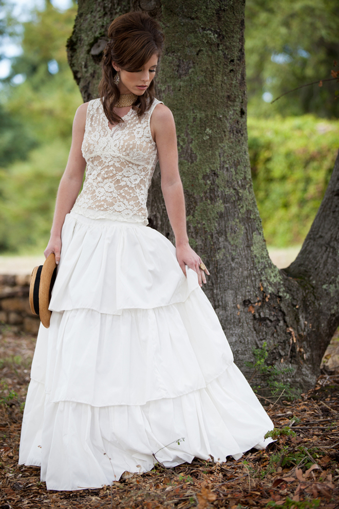 Pin Up Inspired Wedding Dresses