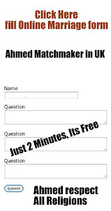 Ahmed matchmaker in UK