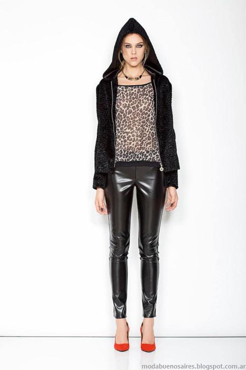Janet Wise invierno 2014 chaquetas.