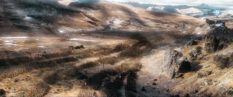 Hobbit gmail theme - The Hobbit The Battle Of The Five Armies