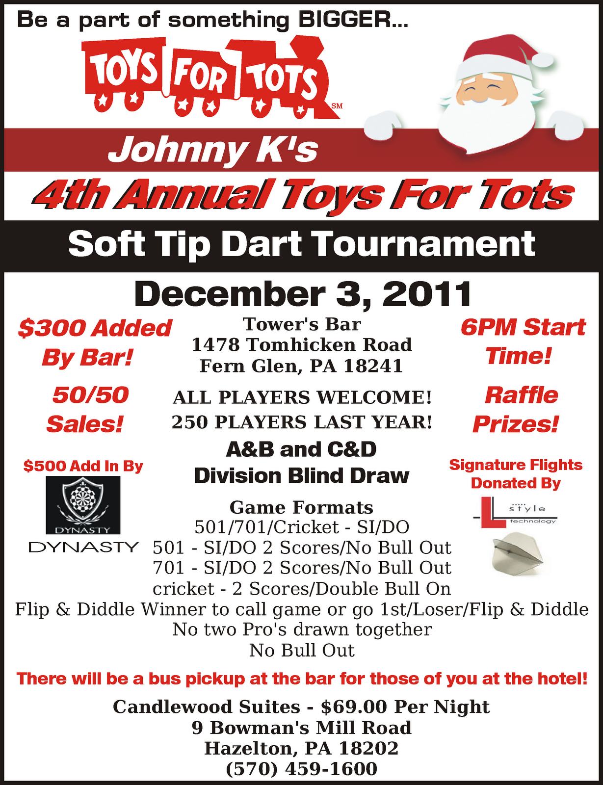 Toys For Tots Flyers : Johnny k s august