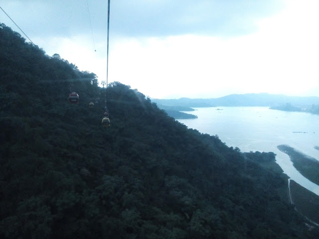 Sun Moon Lake Taiwan Cable car