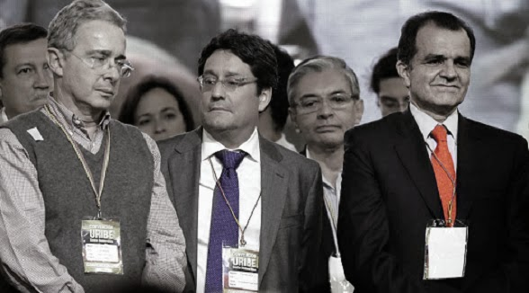 Álvaro Uribe, Zuluaga y Francisco Santos | Copolitica