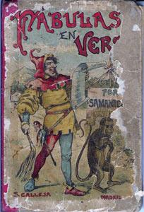 Portada de Fábulas en Verso de Editorial Saturnino Calleja