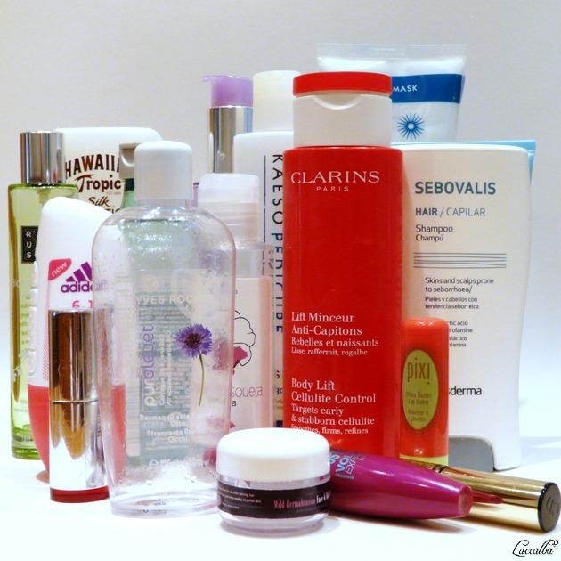Cosméticos y productos de higiene personal.