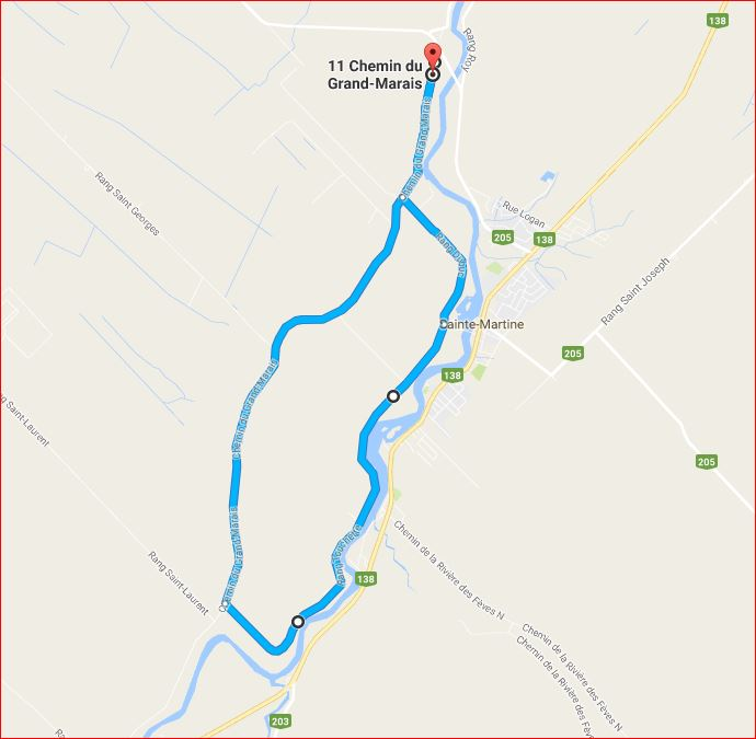 Ride map - photo