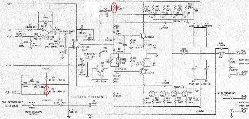 qsc1400-marked Qsc Plx Schematic Diagram on isa 300ti, pl340 power supply, gx 3 amplifier, k-12 ksub, 1400 power amp, k10 speaker, usa 900 amplifier,