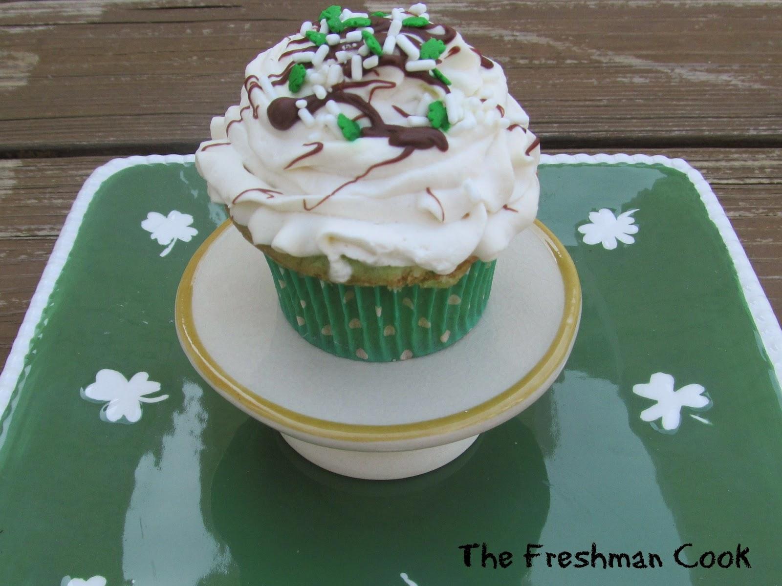 St. Patrick's Favorite Cupcakes