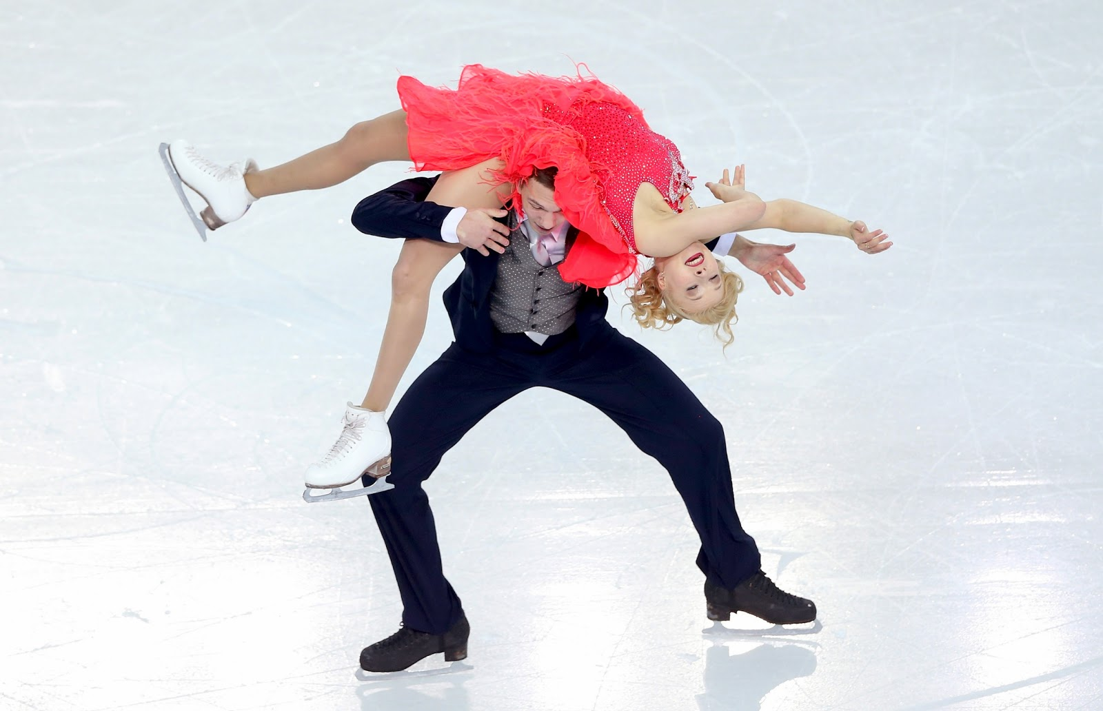 Bobrova and Soloviev,skating short,olympics 2014