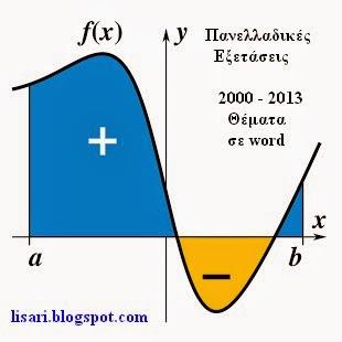 Μαθηματικά Γ΄ Λυκείου Κατεύθυνσης