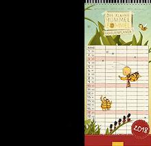 Die kleine Hummel Bommel - Familienplaner