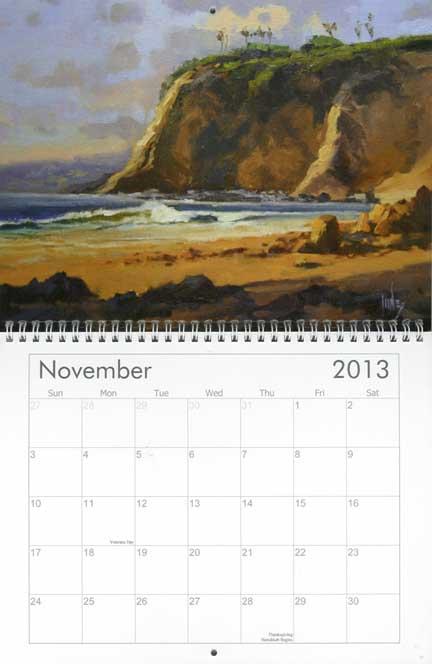 november jones calendar