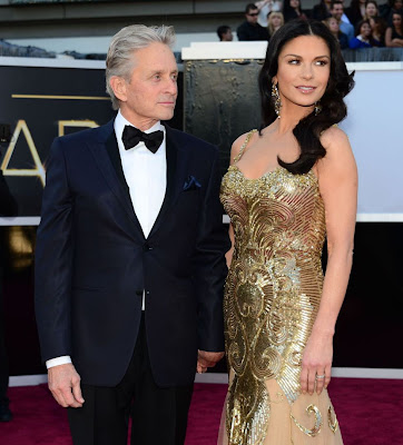Catherine Z-Jones y Michael Douglas