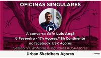 Oficinas Singulares # Urban Sketchers Açores