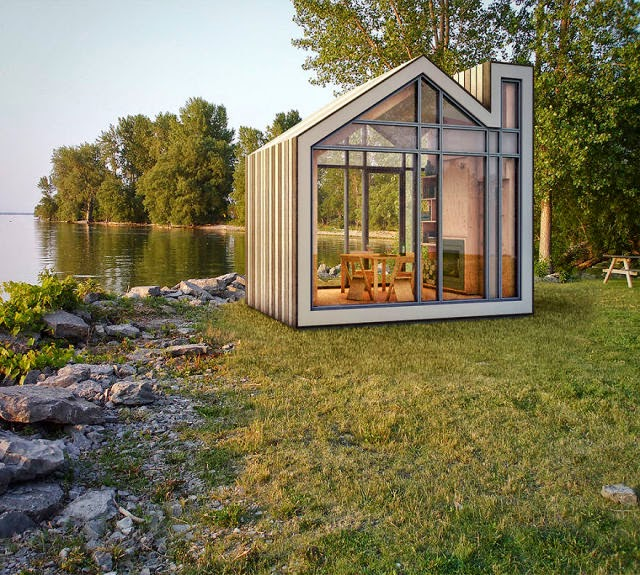 world of technology: cute compact homes that maximize small spaces