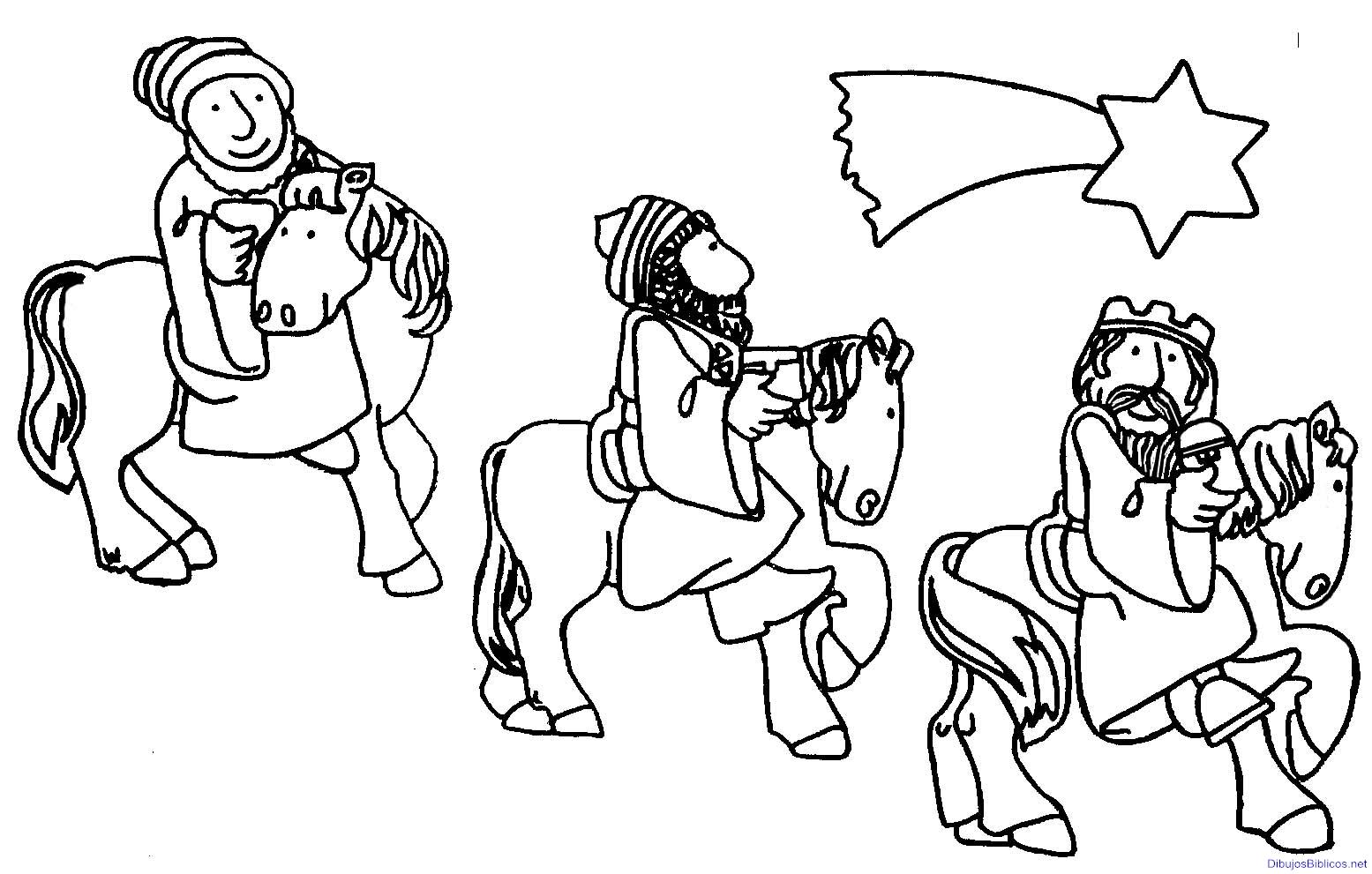 Los 3 reyes magos para colorear new calendar template site - Laminas para imprimir ...