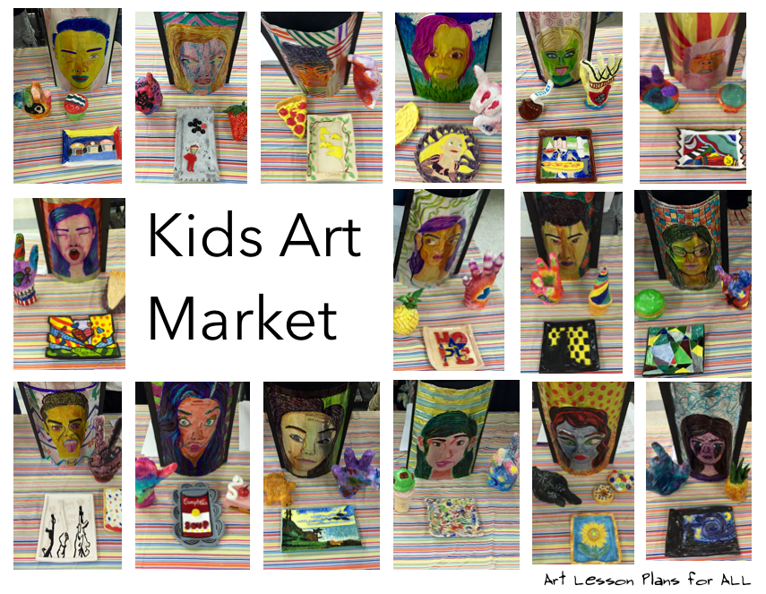 Kids Art Market
