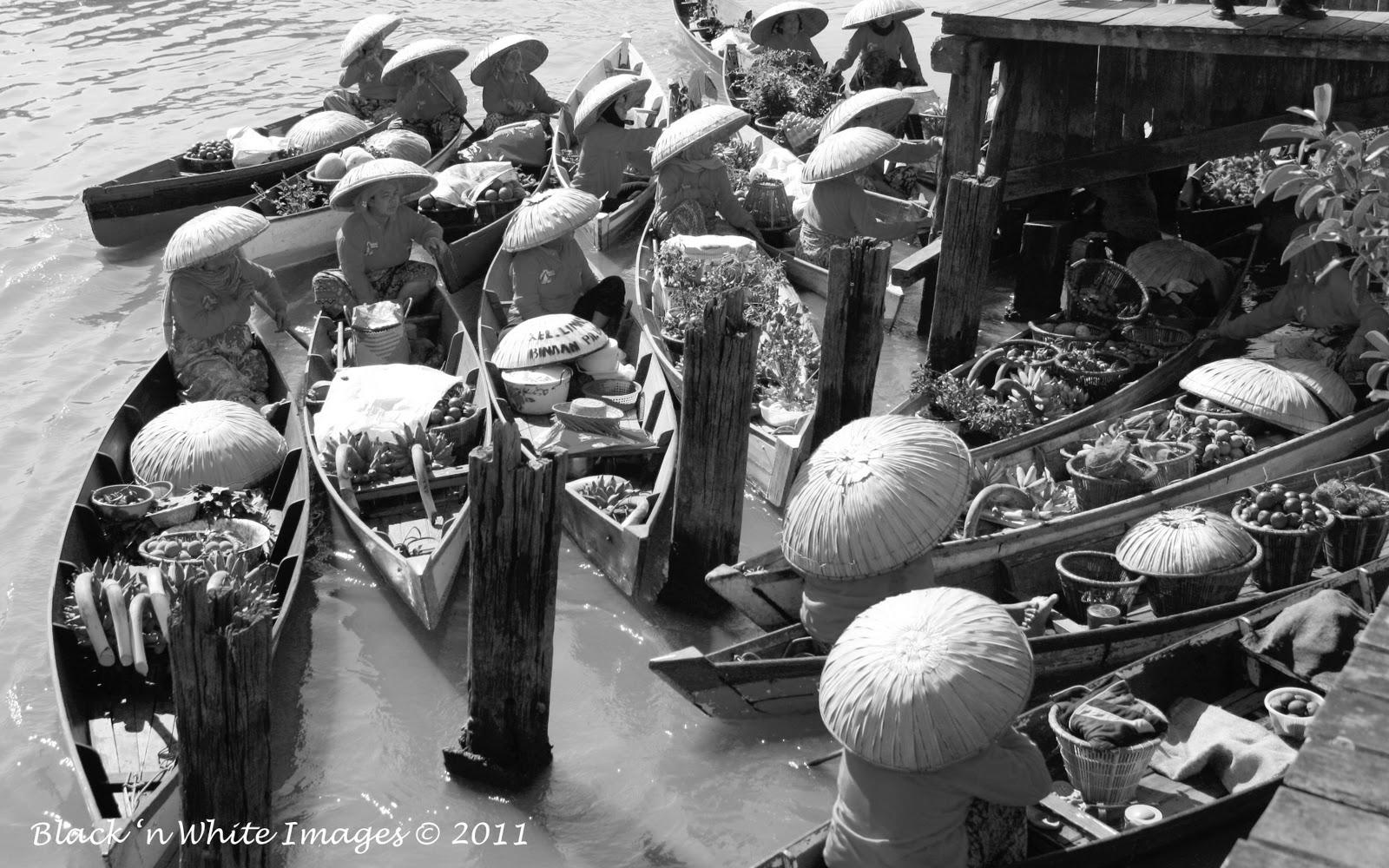 Banjarmasin floting market 2