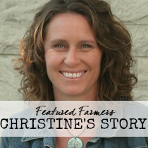 featured farmers christine