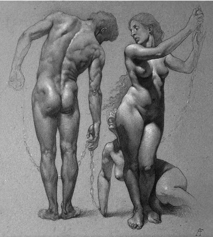 Maravillosos desnudos demuestran como la belleza no