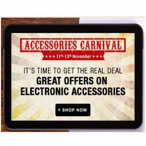 Flipkart: Buy Electronics Accessories Rs 199, Rs299 and Rs499