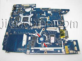Posisi Battery CMOS Aspire 4736G
