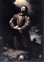 San Francisco de Asís obra de Murillo de España
