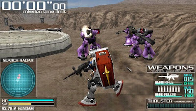 download Game Gundam Battle Tactics psp