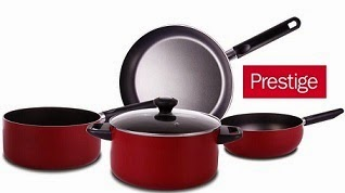 Prestige Cookwares: Rs.500 Cashback on Min. Purchase worth Rs.1000 or more @ Paytm