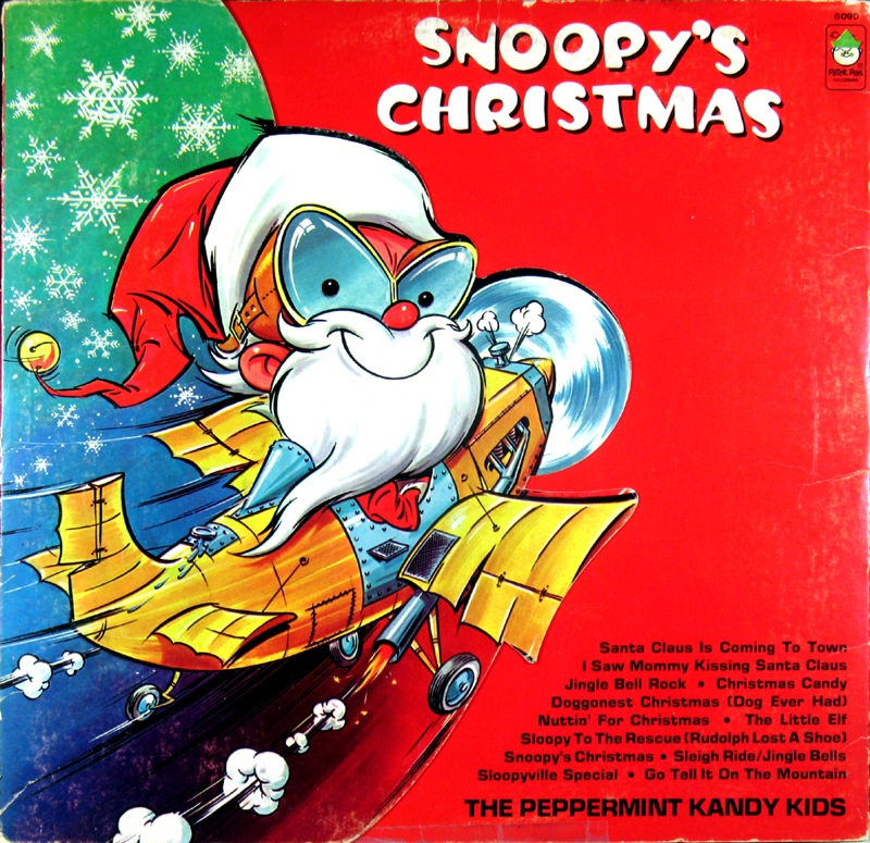 Quot Snoopy S Christmas Quot Peter Pan Records Unforgettable