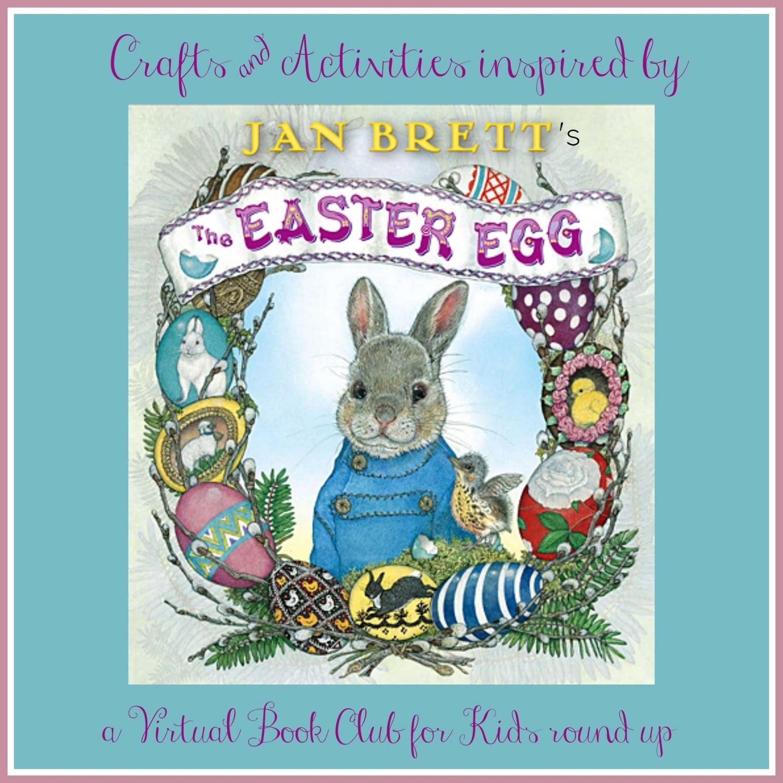 Toddler Approved!: Jan Brett Inspired Easter Egg Crafts & Activities