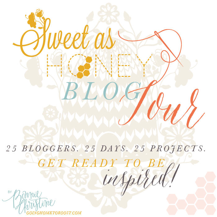 Sweet as Honey Blog Tour // veryshannon.com
