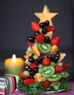 Albero di natale frutta