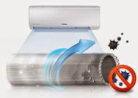 Aparat de aer conditionat Samsung Boracay AR24TJWQ Inverter, 24000 BTU, Clasa A, Filtru Auto Clean