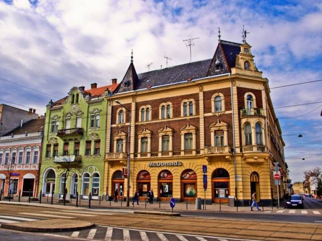 Piac utca, Debrecen, Hungary
