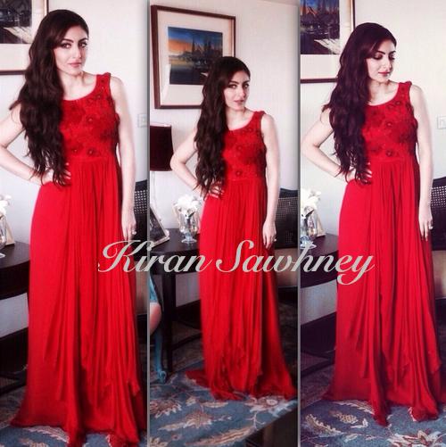 Soha Ali Khan shoot for Nirav Modi