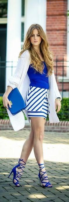 Cool street Style Blue <3