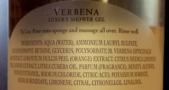 Naturally European Verbena Luxury Shower Gel