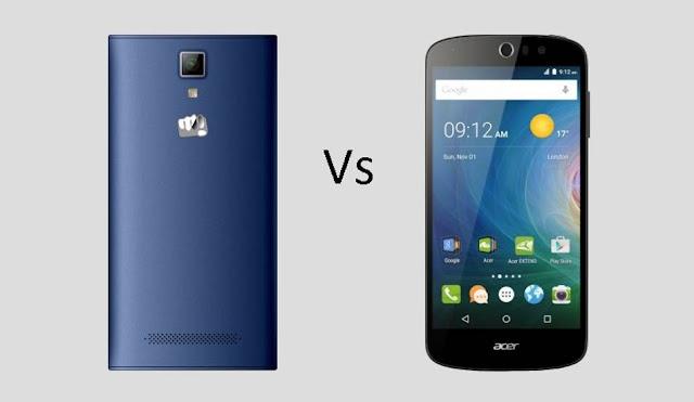 Acer Liquid Z530 vs Micromax Canvas Xpress 4G Comparison