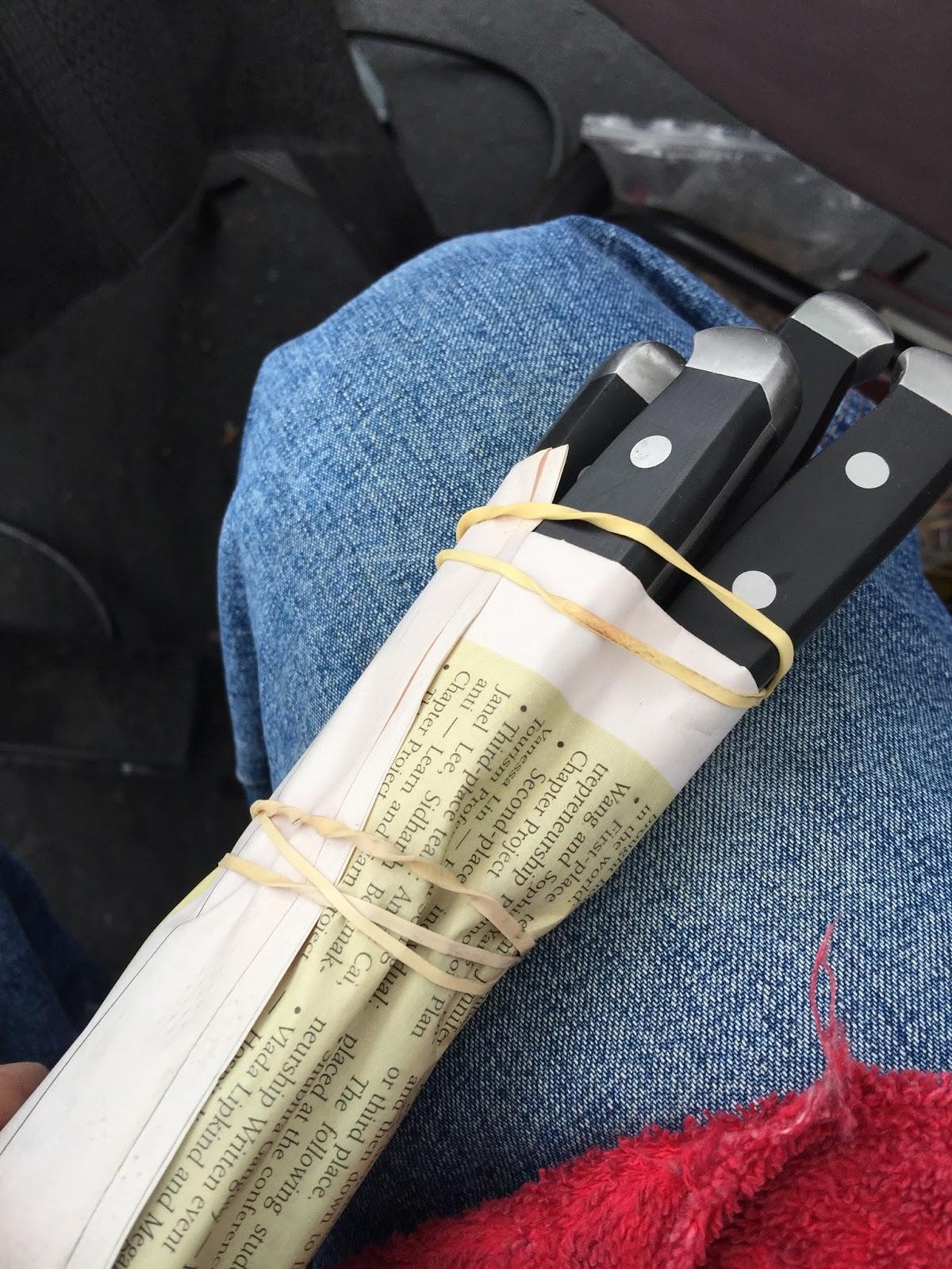 Mobile Knife Sharpening / Knife Sales