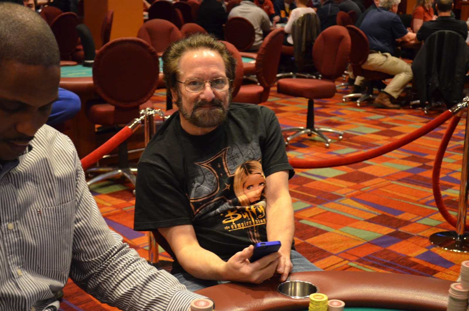 Parxbigstaxii big stax 300 day 3 5th place partenope 10 955 for Parx poker room live game report