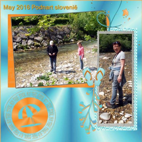 June 2016 page 2 -May 2016 Gorge Ravine-Slovenië