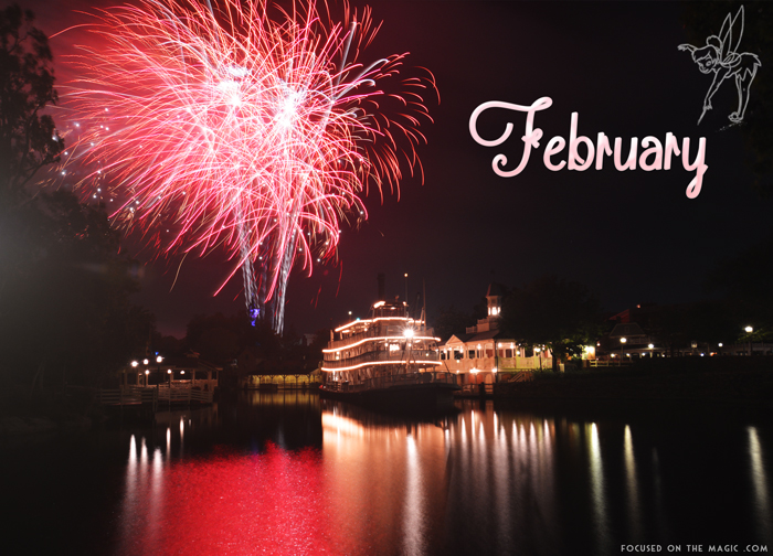 Focused on the Magic Calendar Shot for February Wordless Wednesday